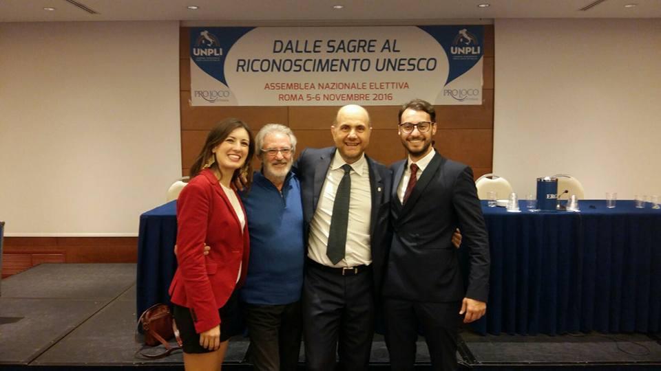 Antonino La Spina nuovo Presidente Nazionale dell'UNPLI