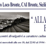 """Pro Loco Bronte, CAI Bronte e SiciliAntica presentano: """"Alla scoperta di Bronte"""""""