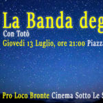 """Cinema Sotto le Stelle: stasera alle 21 """"La Banda degli Onesti"""""""
