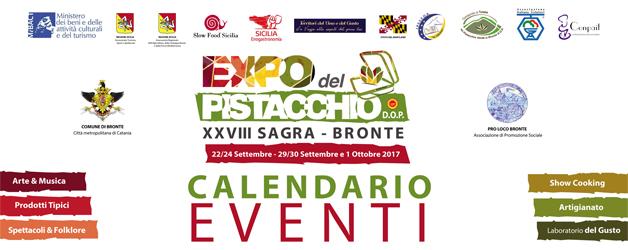 Sagra Pistacchio Bronte 2017: Ecco il Programma Ufficiale degli Eventi