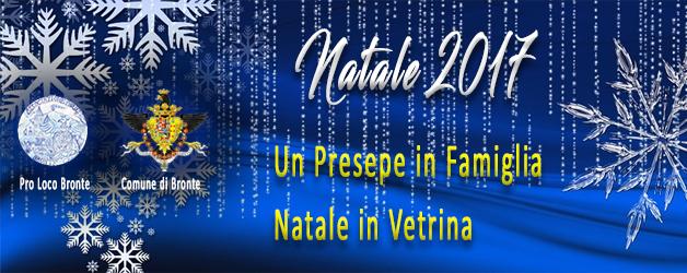 """Pro Loco Bronte: Ecco i concorsi natalizi """"Un Presepe in Famiglia"""" e """"Natale in Vetrina"""""""