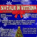 La Pro Loco Bronte presenta: Concorso Natale in Vetrina