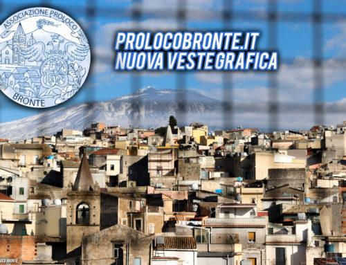 Pro Loco Bronte: Nuova veste grafica per il sito ufficiale!