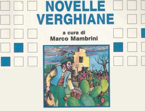 """Il libro del mese: """"Novelle verghiane"""""""