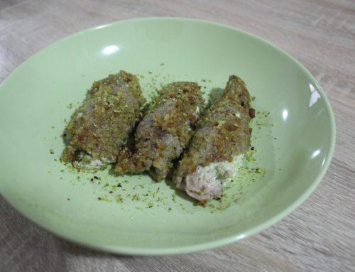 Ricette brontesi: involtini di vitello al pistacchio