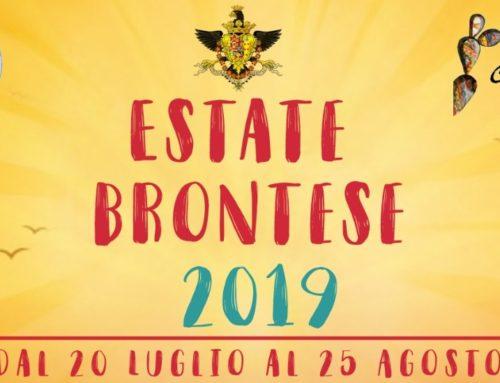 Estate Brontese 2019: Ecco il programma degli eventi!