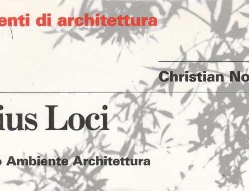 """Il libro del mese: """"Genius Loci-Paesaggio Ambiente Architettura"""""""