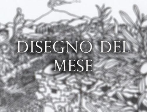 Disegno del mese: antico mulino ad acqua in contrada Serravalle sul torrente Troina