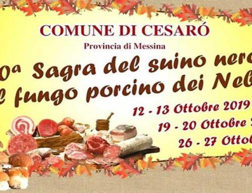 Eventi in Sicilia: XX sagra del suino nero e del fungo porcino dei Nebrodi