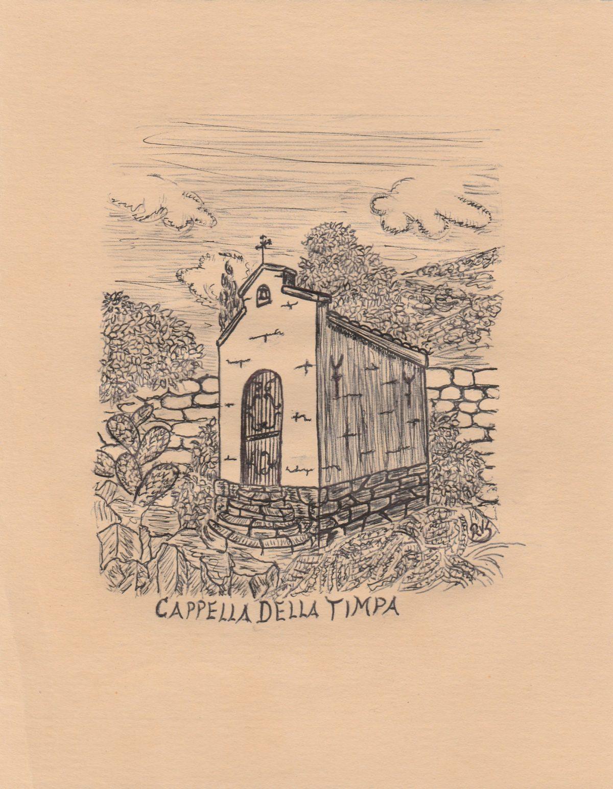 Disegno del mese: Cappella della Timpa