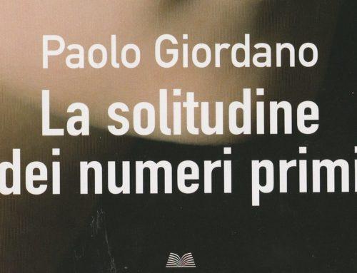 """Il libro del mese di Novembre: """"la solitudine dei numeri primi""""- Paolo Giordano"""