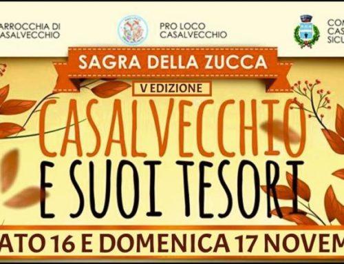 Eventi in Sicilia: Sagra della zucca di Casalvecchio siculo