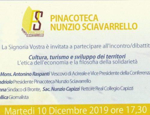 Comunicato stampa incontro-dibattito con il Vescovo e Vice Presidente nazionale della Cei, Antonino Raspanti