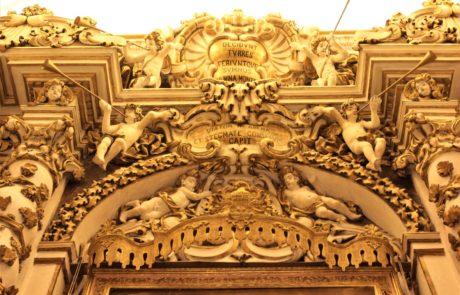 Altare barocco del Purgatorio