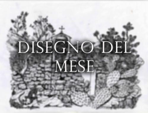Disegno del mese: Ruderi della chiesa di Santa Maria la scala