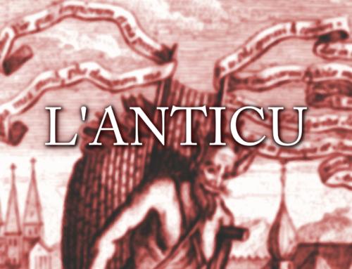 L'anticu: A' Canzunazza