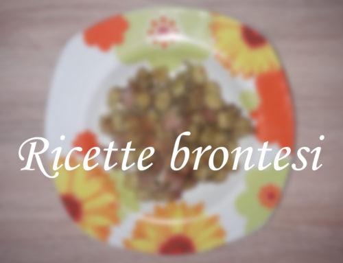 Ricette brontesi: Gnocchetti mortadella e pistacchio