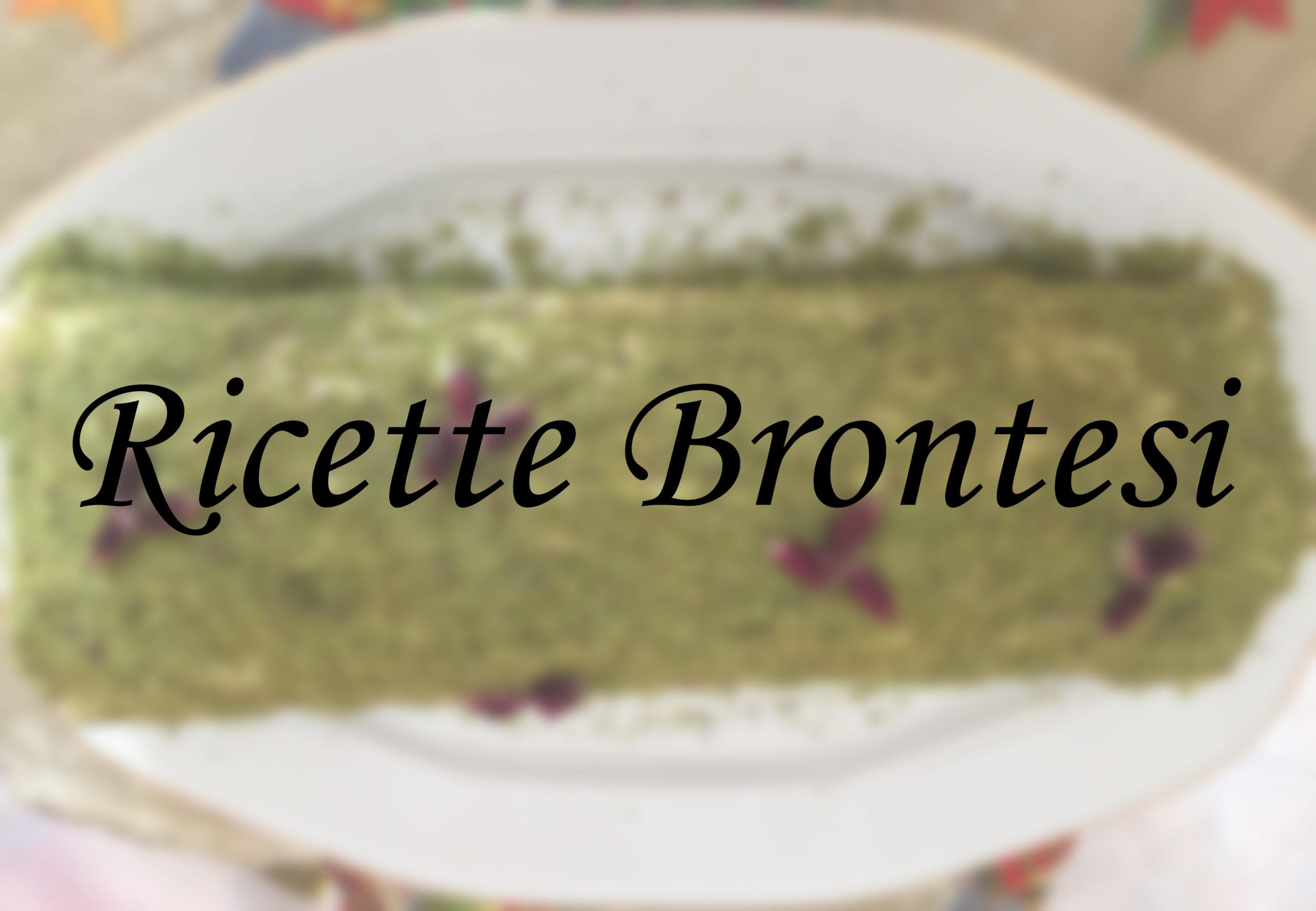 Ricette brontesi: Rotolo con crema al pistacchio