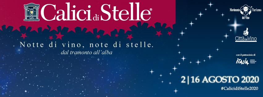 "Eventi in Sicilia:""Calici di Stelle 2020″"