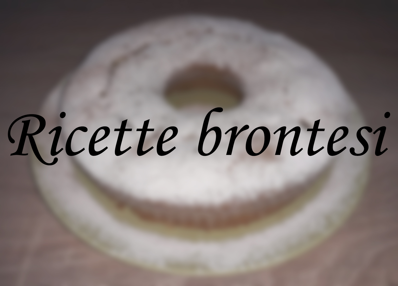 Ricette brontesi: Ciambella alle pere coscia di Bronte