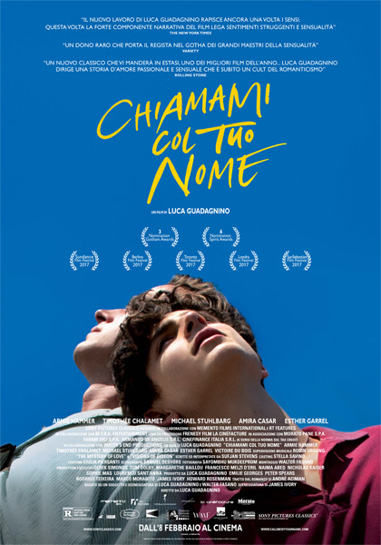"""Cinema Paradiso: """"Chiamami col tuo nome"""""""