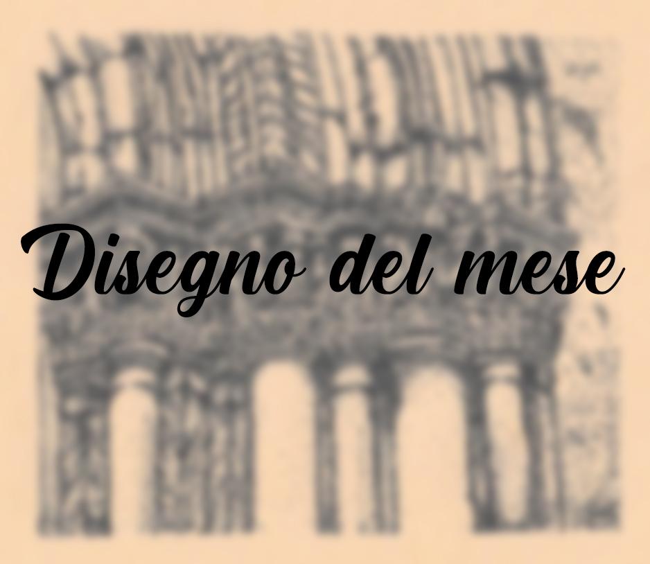 """Disegno del mese: """"Fra angeli e demoni le pietre raccontano il susseguirsi dei secoli"""""""