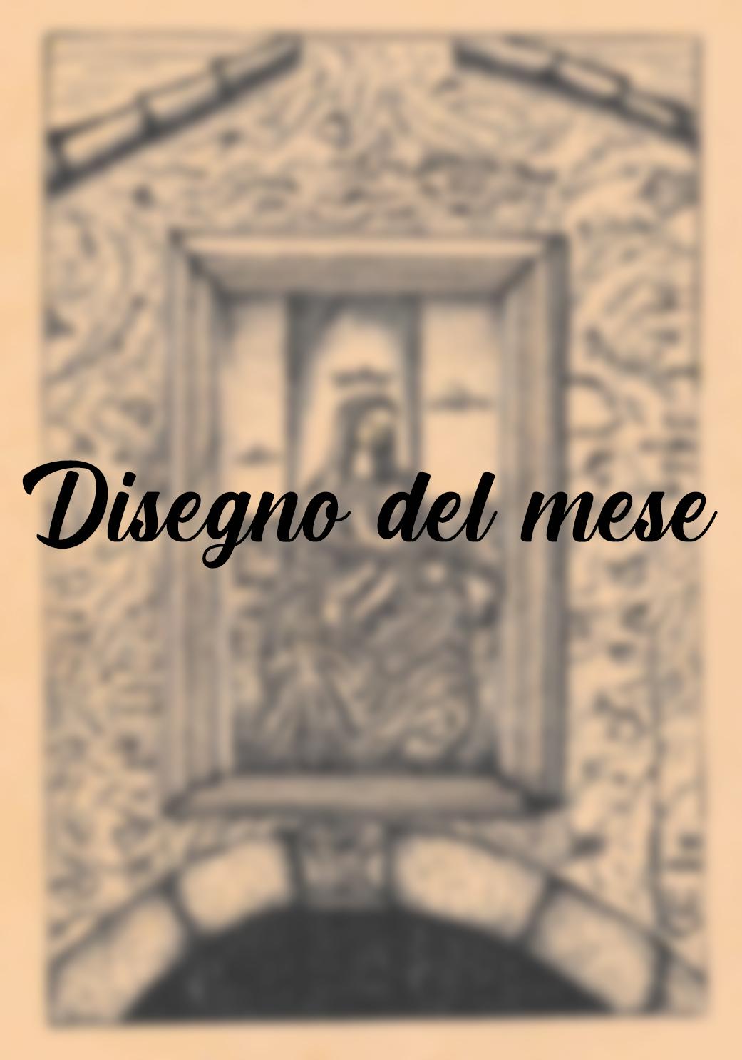 """Disegno del mese: """"Scendi dal trono Vergine"""""""